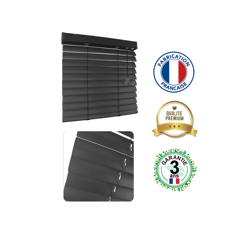 Store vénitien aluminium 50mm Premium