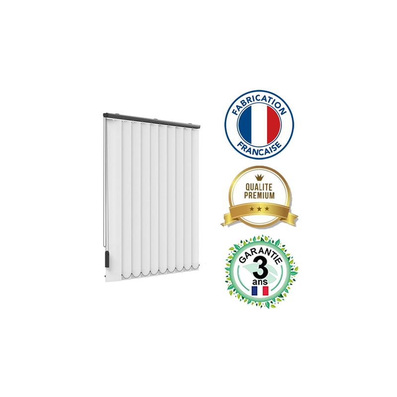 Store à bandes verticales PREMIUM - Fabrication française - Haute qualité